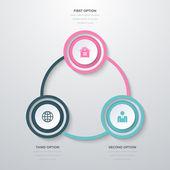 Infografika tři možnosti