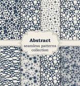 Vector illustration of abstract seamless patterns