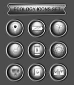 Ecology logo icon set
