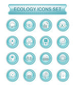 Ecology logo icon set