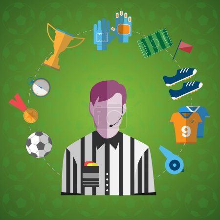 Soccer Game Items big icon set
