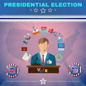 Usa Presidential Election Debates Banner
