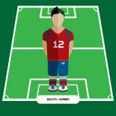 Computer game South Korea Soccer club player