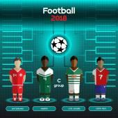 World Cup Team Scoreboard Switzerland Nigeria Cote d'Ivoire