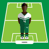 Computer game Nigeria Football club player