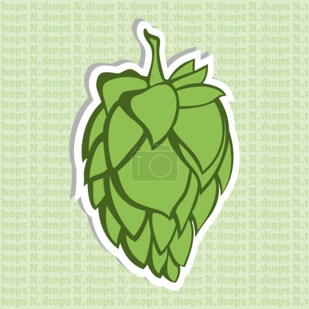 Green Hop Flower Beer ingredient