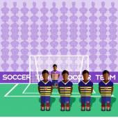 Ecuador Soccer Club Penalty on a Stadium