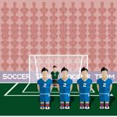 Slovakia Soccer Club Penalty on a Stadium