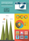 Summer Travel Infographic Web Page Design