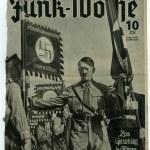 Постер, плакат: Reproduction of magazine page shows Adolf Hitler