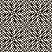 Seamless pattern Modern stylish geometric texture Regularly repeating tiles with rhombuses squares triangles Vector element of graphic design