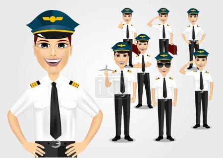 Set of pilots