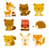 Super Cute Woodland Creatures Set