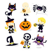Halloween Trick Or Treat-Icons