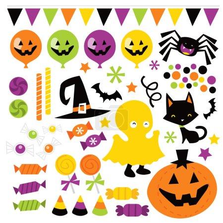 Retro Halloween Trick Or Treat