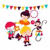 Carnival Circus Act