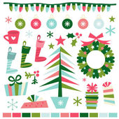 Whimsical Fun Retro Christmas Accents