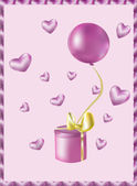 Růžový dárek