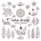 Set of boho design1