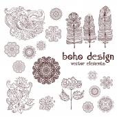 Set of boho design2