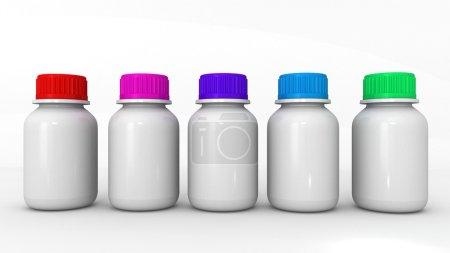 Pills from bottle