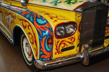 John Lennon's classic psychedelic Rolls Royce.