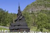 Roubený kostel Borgund