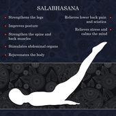 Yoga pose infographics benefits of practice
