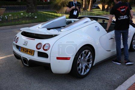 White Bugatti Veyron 164 Grand