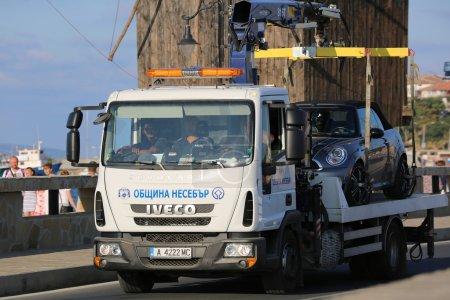 Tow Truck in Bulgaria
