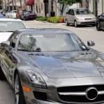 Luxurious cars - Worth Avenue of Palm Beach, Flori...