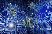 Digitális biztonsági koncepció számítógépes vírus elektronikus környezetben