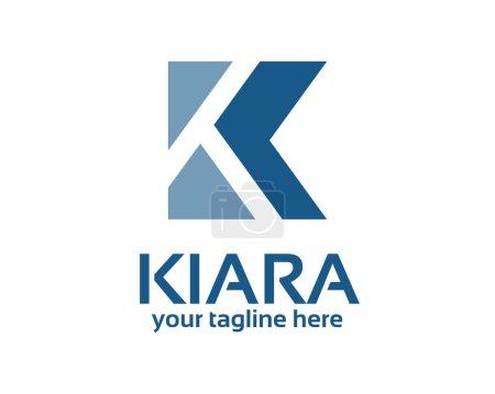 Business corporate letter K logo design template.