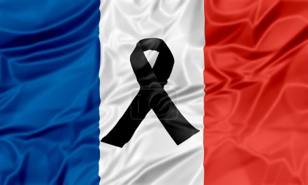Black ribbon France