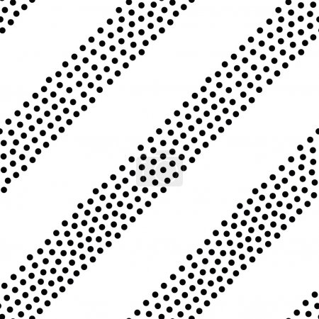 Vector geometric stripes seamless pattern. Repeating abstract li
