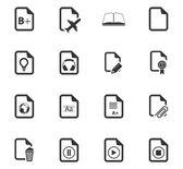 Soubor ikony dokumenty