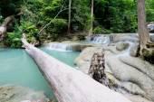 Erawan Falls in Kanchanaburi at Thailand