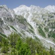 Some peaks of Albanian Alps, also called Accursed ...