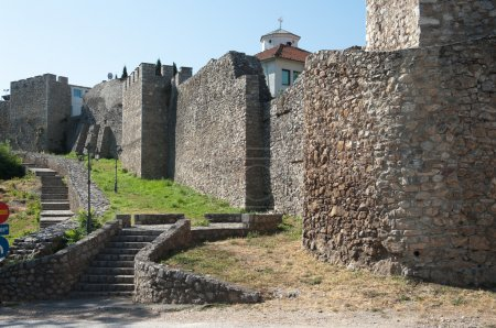 Samuil Fortification In Ohrid, Republic Of Macedonia