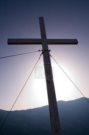 Cross In Backlight