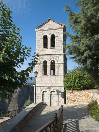 Belltower Of Holy Monastery of Great Meteoron, Greece