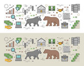 Horizontal concept of stock market