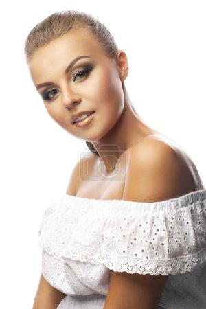Beautiful sensuality elegance woman