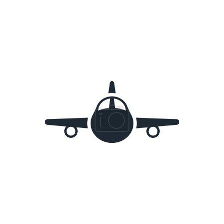 Illustration for Plane icon - Royalty Free Image