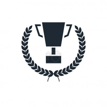 icon trophy leath
