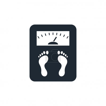 Illustration for Scales icon - Royalty Free Image