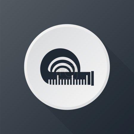 icon tape measure
