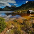 Cradle Mountain National Park with Dove lake and a...