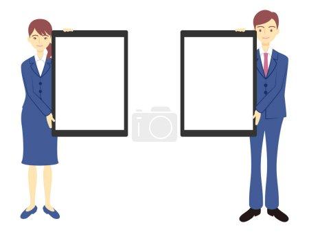 Illustration pour Entreprises et conseils d'administration des entreprises - image libre de droit