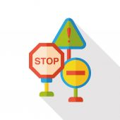 traffic Roadblocks icon icon element